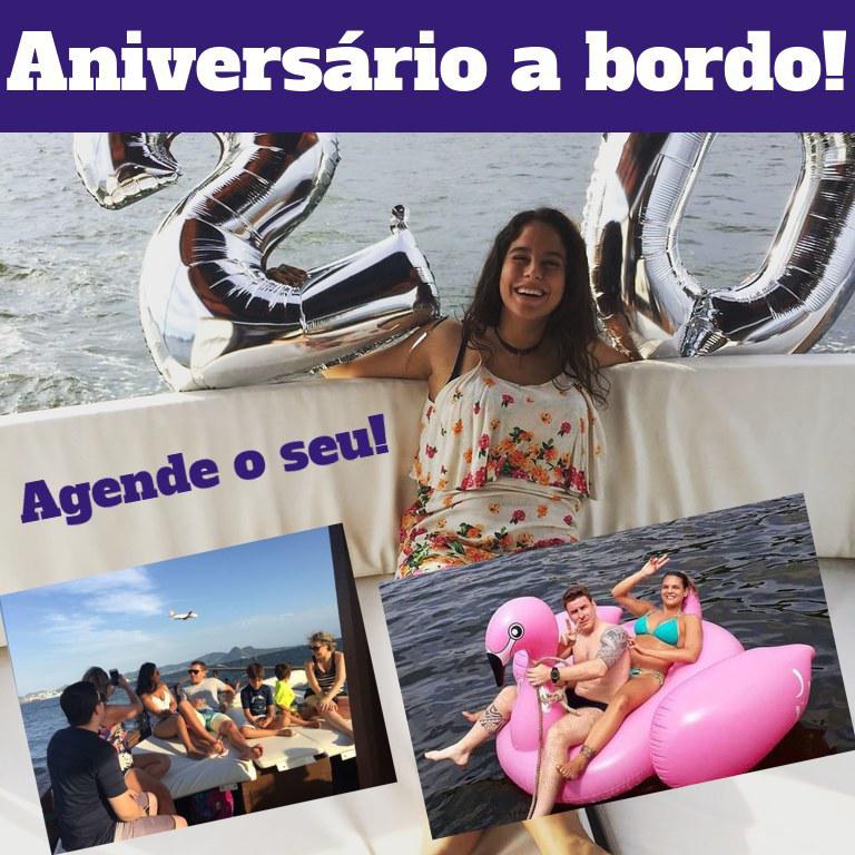 Festa de Aniversário de Barco RJ